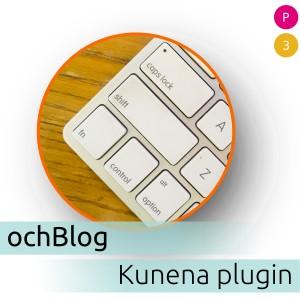 ochBlog Kunena plugin 0.1.0